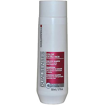 DualSenses di Goldwell Fade interrompere Shampoo 50ml colore Extra Rich