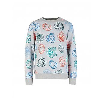 Kenzo Kids Georges all over Tiger Sweat
