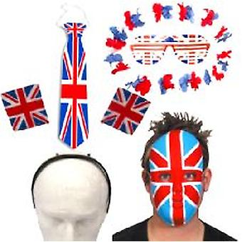 Union Jack Party Accessory Pack - Small