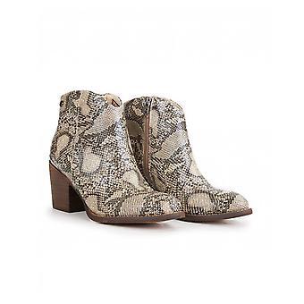 Xti Block Heel Western Boots