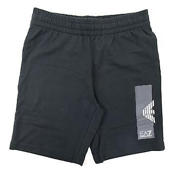 Ea7 EA7 Bermuda Logo Swim Shorts Black