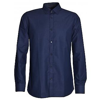 Ted Baker Men's Navy Geo Print Shirt