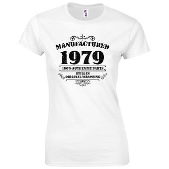 40th Birthday Gifts for Women Her Manufactured 1979 T Shirt