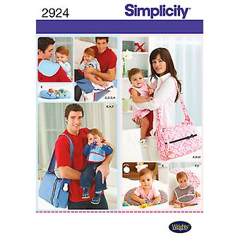 Simplicity His And Hers Diaper Bags And One Size U02924os