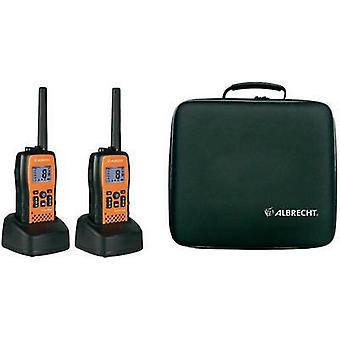 PMR handheld transceiver Albrecht Tectalk Float 29661 2-piece set