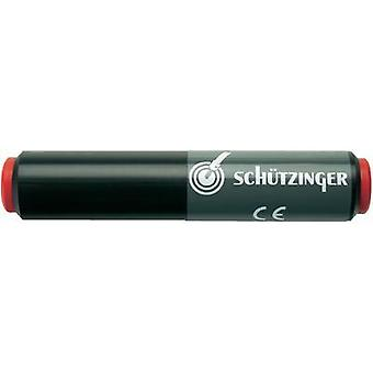 Connector 4 mm socket - 4 mm socket Red Schützinger SKU 7035/NI/RT 1 pc(s)
