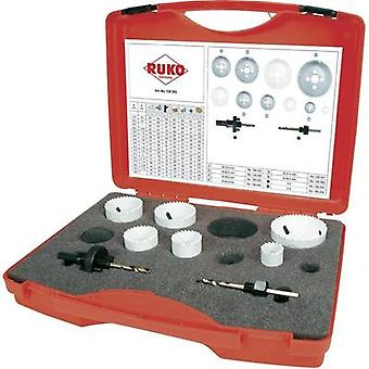 Hole saw set 8-piece RUKO 126302 cobalt 1 Set