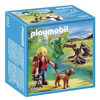 Playmobil Beavers with Backpacking