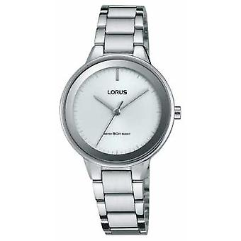 Lorus Unisex Stainless Steel Strap Round White Dial RRS77VX9 Watch