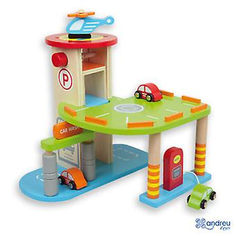 Andreu Toys Parking (Kinderen , Speelgoed , Vehicles , Tracks And Circuits)