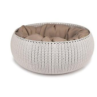 Curver Pet Bed Cozy Sand (Cats , Bedding , Igloos)