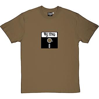 5 1/4 Inch Floppy Disk Men's T-Shirt