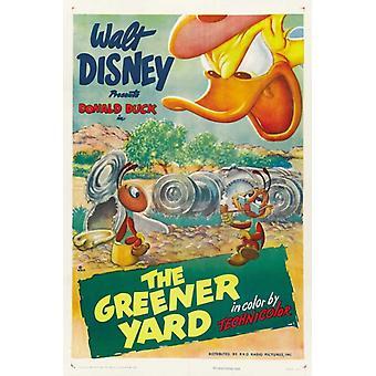 De groener Yard filmposter (11 x 17)