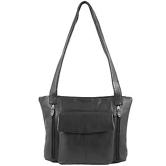 GREENLAND High Class Nappa Leder Shopper Schultertasche 1650-20