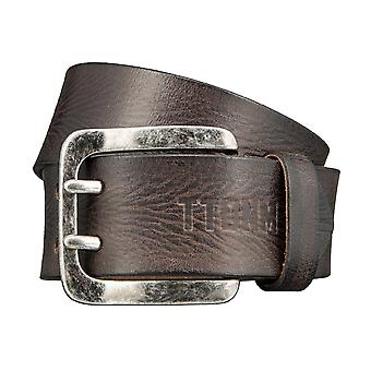 TOM TAILOR belt leather belts men's belts Brown 3384
