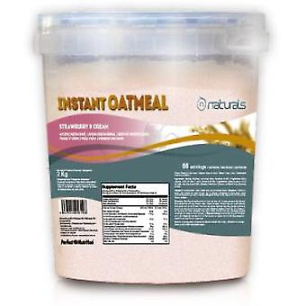 N Naturals Instant Oatmeal Strawberry & Cream (Sport , Proteins , Smoothies and Shakes)