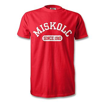 Diosgyor 1910 Established Football T-Shirt