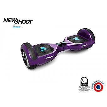 hoverboard spinboard © classic deep purple