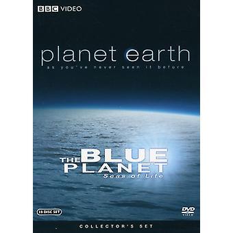 Planet Earth/Blue Planet: Seas of Life [DVD] USA import