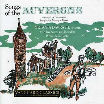 J. Canteloube - Joseph Canteloube: Sange af Auvergne [CD] USA importen