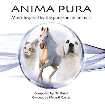 Margrit frakker/Nic Raine - Anima Pura [CD] USA import