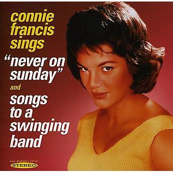 Connie Francis - aldrig på søndag/sange til en S [CD] USA import