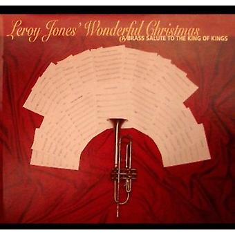 Leroy Jones - Wonderful Christmas-a Brass Salute to the King of [CD] USA import