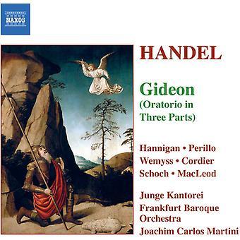 G.F. Haendel - Handel: Gideon [CD] USA import