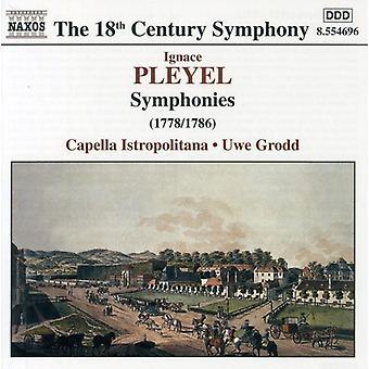 I. Pleyel - Pleyel: Importazione di sinfonie [CD] USA