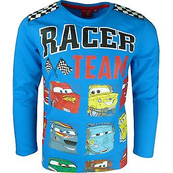 Boys Disney Cars Lightning McQueen Long Sleeve Top