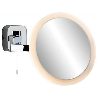 Firstlight Modern Chrome Adjustable Neck Mirror Wall Light