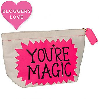 Wild & Wolf Hazel Nicholls You're Magic Make Up Bag