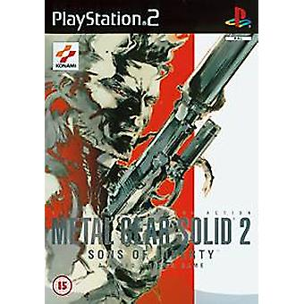 Metal Gear Solid 2: Sons of Liberty (PS2) (brugt)