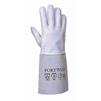 sUw - Premium Tig lassen Gauntlet handschoen (1 paar Pack)