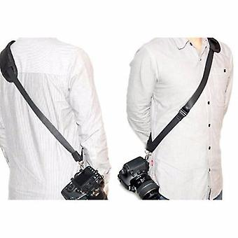 JJC Quick Release Professional Shoulder Sling Strap with storage pocket. Fits to cameras tripod socket with ABS Plate. For Olympus PEN E-P1, E-P2, E-P3, E-PL1, E-PL2, E-PL3, E-PL5, E-PM1, E-PM2