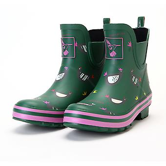 Womens Ankle Wellies - Chicken Meadow Wellies - Evercreatures