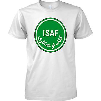 International Security Assistance Force ISAF Insignia - Kids T Shirt