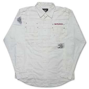 Live mekanik smerte og Passion skjorte hvid