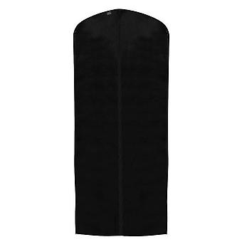 Black Polypropylene Zipped Dress Cover - 128x60cm