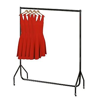 5ft Black Heavy Duty Clothes Rail W 152 H 155 D 50cms von Caraselle