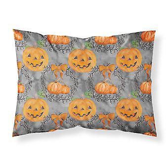 Watecolor Halloween Pumpkins Fabric Standard Pillowcase