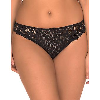 Sans Complexe 609611-Noir Women's Clemence Black Knickers Panty Full Brief
