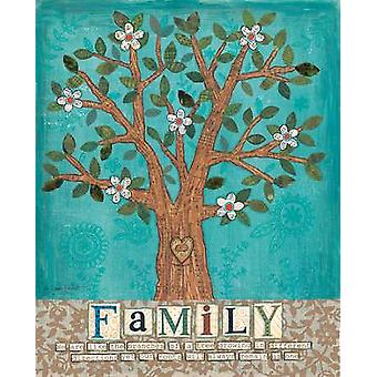 Family Tree Poster Print by Annie Lapoint (16 x 20)