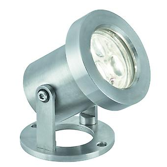 Stainless Steel Directional Outdoor LED Spotlight - Searchlight 6223SS