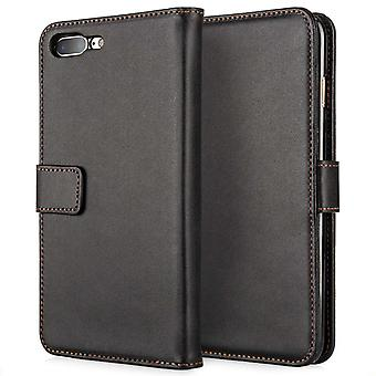 iPhone 7 Plus Leather Effect Wallet - Black