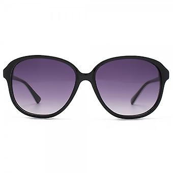 French Connection Premium Retro Glam Sunglasses In Black
