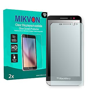 BlackBerry Z30 Screen Protector - Mikvon Clear (Retail Package with accessories)