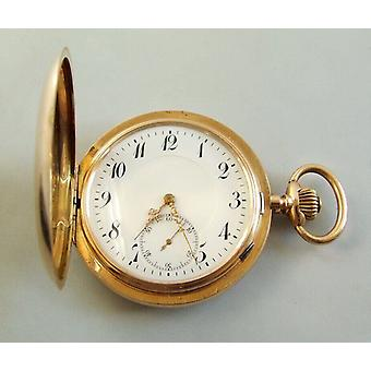 14 k Rose oro reloj de bolsillo