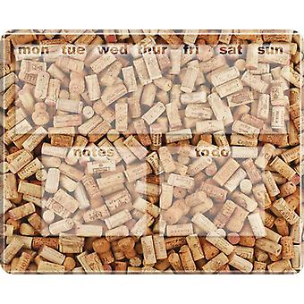Wine Corks Dry Wipe Magnetic Diary Board Photoboard