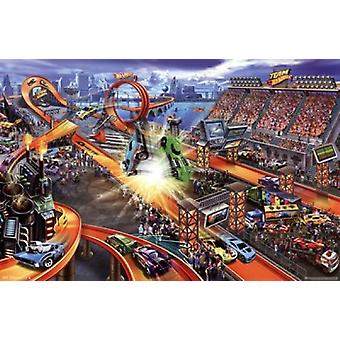 Hot Wheels - Crash Poster Print